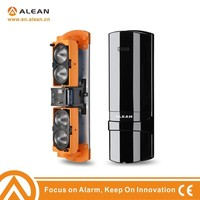 ALEAN Outdoor wired photoelectric beam sensor 4 beams 250mtr detection in perimeter protection security alarm system CE approved