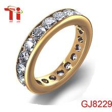 El anillo de 316L acero inoxidable joyería moda,anillos de cristal de diamante