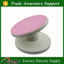 Plastic adjustable mini cake stand/plastic tilting cake stand for cake decoration