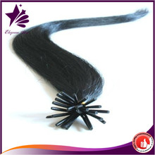 Best Selling Products Elegance Star Hair Virgin Brazilian I tip Human Hair Extensions China Supplier Wholesale