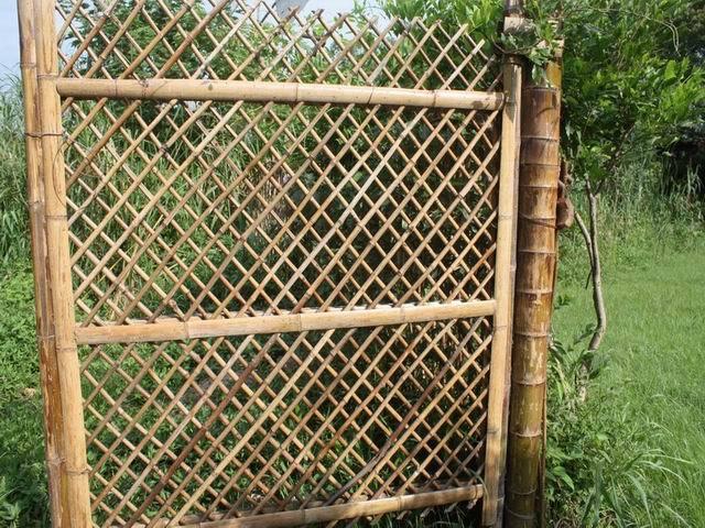 cerca de jardim barata : cerca de jardim barata:Barato Cerca Do Jardim de Bambu-Cercas, treliças e portões-ID do