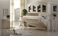 factory wall bed murphy bed manufacturer contemporary european style Twin size for Living room