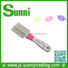 Factory directly sell new pet product custom horse grooming brushes