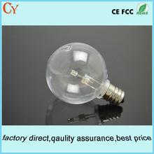 G40 global led plastic bulb E12 warm white