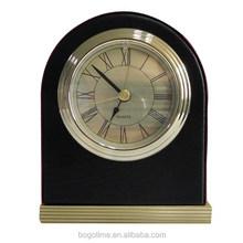 solid wood handmade lighted decorative alarm clock