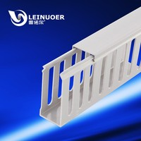 PVC cable trunking/ Plastic cable trunking/pvc trunking size