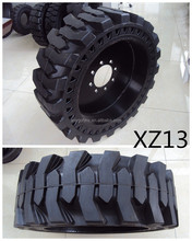 forklift solid tire/tyre Skid steer solid tyres / tyres XZ13