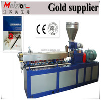 CE&ISO mini parallel twin screw extruder Rubber Machine For Eraser