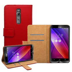 PU Wallet Case for Asus Zenfone 2 , Flip Case for Asus Zenfone 2 , Wholesale Cell Phone Case for Asus Zenfone 2
