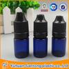 5ml FDA and BV blue body eliquid bottle&dropper e-cigarette liquid dropper bottle e-liquid dropper eliquid plastc bottles