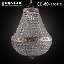 Simple creative style rock crystal chandelier pendants