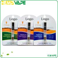 Wholesale no leaking hemp oil atomizer disposable electronic cigarette empty for cbd oil