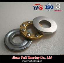 F4-10 F4-10M SF4-10M 4*10*4mm axial mini brass steel cage chrome stainless steel thrust ball bearing F4-10