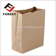 Kraft paper bag, food paper bag and grocery paper bags for sale, food deliver bag