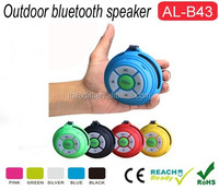 High Quality Colorful Cube style motorcycle audio speaker bluetooth speaker made in china
