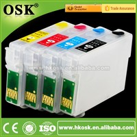 T1281 Wholesale cartridge for Epson SX130 SX235W Refillable ink cartridge with ARC chip