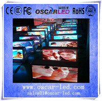 hot wholesale hd soft transpranets portable commercial screen p5 digital advertising led fitness display