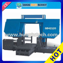 GB4035 Horizontal band sawing machine , Steel bar Cutting Machine , Tilting Saw Machine