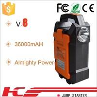 Emergency roadside kit for big truck Huge power jump start 24 volt with 12 volt