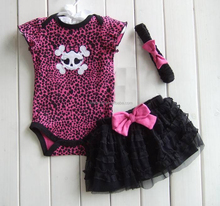 yiwu wholesale baby clothes new born baby romper dress set 3 piece rompers sets