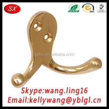 Customized Two Eyes Brass/304/316 Stainless Steel Coat Hook