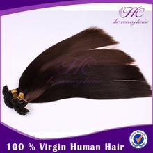Italian Keratin Flat Type Human Weft Remy Walmart Hair Extensions