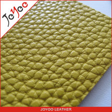 Joyoo lichi pu leather products for bags