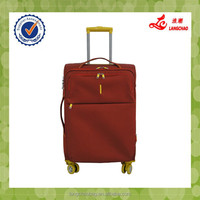 2015 new design soft eva nylon computer cases trolley case/Luggage/suitcase/business trolley bags