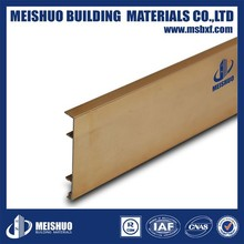 Interior decoration aluminum skirting board
