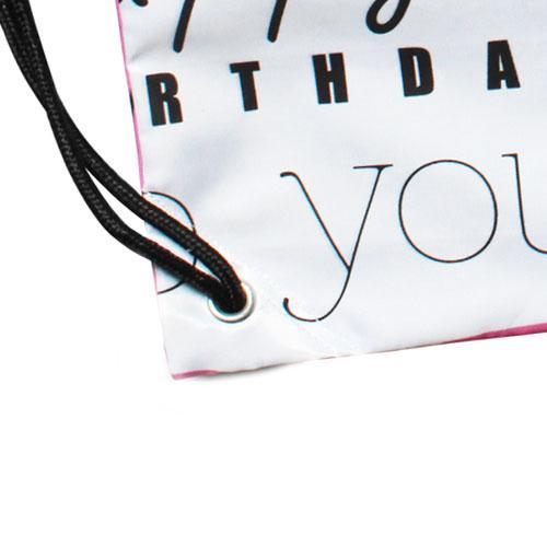 Пользовательские хищники баскетбол/футбол полиэфирной ткани шнурок сумки Твин стороны печати