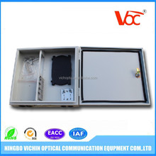 FTTH wall mount 12 cores fiber optic terminal box