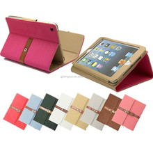 High Quality Leather Smart Case, Leather Case Cover For Ipad 2 3 4 with Sleep Wake