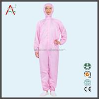 Three Piece Full Female Body Anti-static Chemical Suit