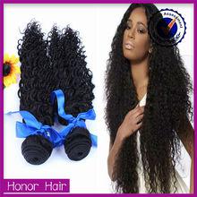 Magic wholesale 7a unprocessed weave extensions virgin brazilian jerry curl hair weave