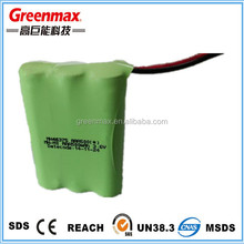 NI-MH AAA 500mAh 3.6V Rechargeable Battery Pack