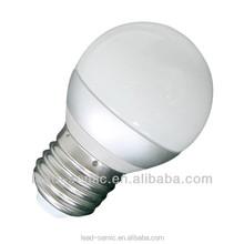 E27 warm white SMD 3w led ceramic lamp 220v