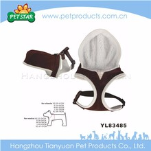 Advertising best quality firm dog harness with hat