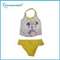 2015 Phayon girl child swimwear,girl/baby UV50+ swimsuit,kid girls rash guard/swim shirt