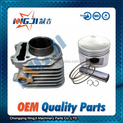 Motorcycle Parts Motorcycle Engine Part Lifan Motorcycles Cylinder kit 61mm dameter