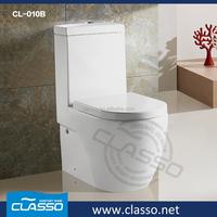 Watersense Elongated high volume flush washdown toilet bowl