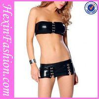 Black Two Pieces Sexy Girl Night Club Wear