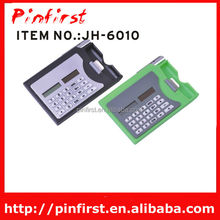 8 Digit Eletronic Cheap Pocket Card Solar Powered Calculator