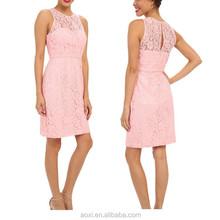 OEM custom China factory summer fall elegant lace fitting bodycorn fashionable evening dress