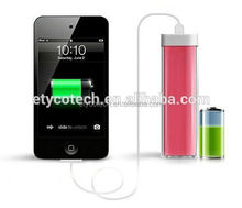 small size mobile phones 1800mAh power bank for samsung