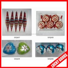 decorative plastic wholesale christmas ornament