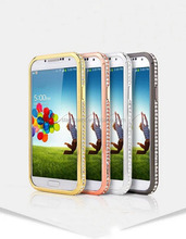 Bling Bling Diomond Metal Aluminum Case for Samsung Galaxy S4