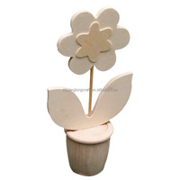 high quality artificial handcrafted wooden carved flower