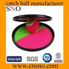 plastic wholesale velcro catch ball