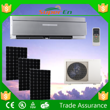 12000btu 0.5 ton water cool wall mounted split solar air conditioner for rooms