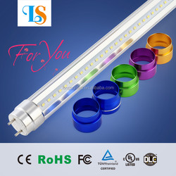 T8 8 FT COMPATIBLE BALLAST 36w epistar SMD2835 288PCS 100lm/w 2.4m tube8 With CE,RoHS,UL Approval tube8 led For hotel